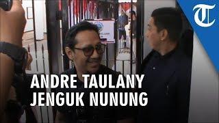 Andre Taulany Jenguk Nunung