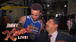 Repeat youtube video Guillermo at NBA Finals Media Day 2015