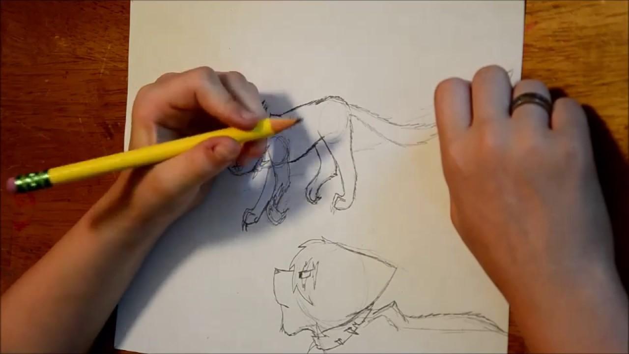 Warrior Cat Scenes To Draw