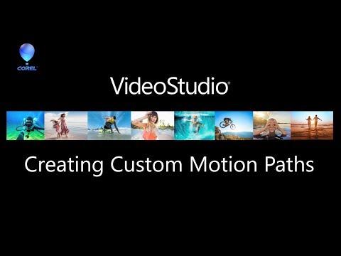 Creating Custom Motion Paths In VideoStudio