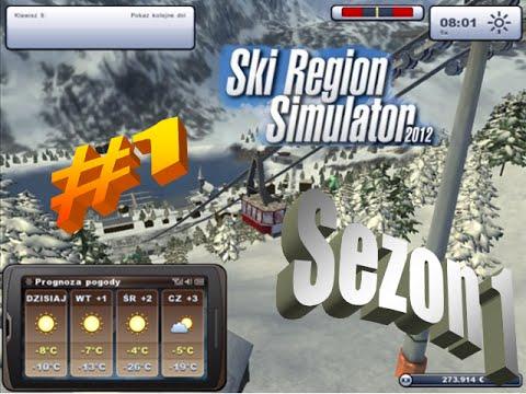 [Ski Region 2012] Sezon 1 #1-Start gry, rozbudowa stacji