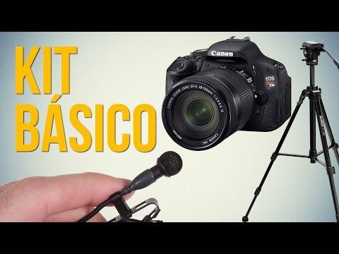 Kit Básico Para Gravar Vídeos com Qualidade
