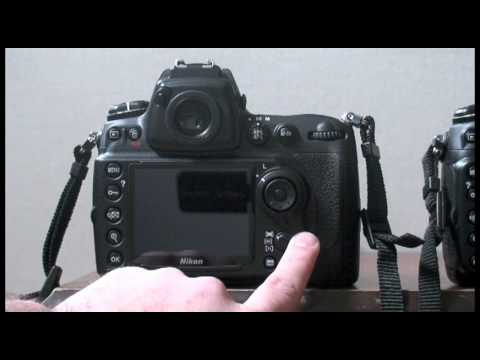 how to know shutter count nikon d90