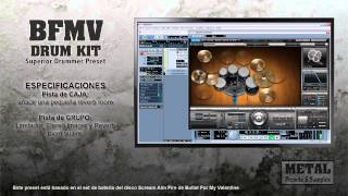 Bullet For My Valentine Drum Kit (Superior Drummer Preset)