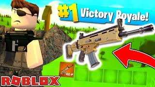 FORTNITE IS NOW IN ROBLOX? - ROBLOX FORTNITE BATTLE ROYALE (ISLAND ROYALE) | JeromeASF