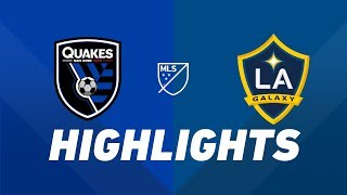 San Jose Earthquakes vs. LA Galaxy | HIGHLIGHTS - June 29, 2019