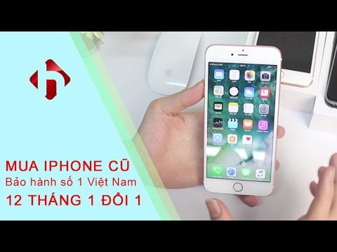 Mua iPhone cũ bảo hành 12 THÁNG 1 ĐỔI 1 - Duy nhất tại HungMobile