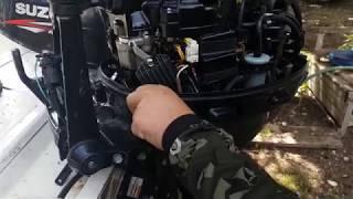Deneyim - Suzuki 20 HP 4 Zamanlı Deniz Motoru Yağ Filtresi Nasıl Değiştirilir