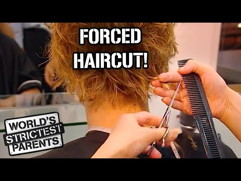 Teen Forced to Get a Haircut | World's Strictest Parents | World's Strictest Parents