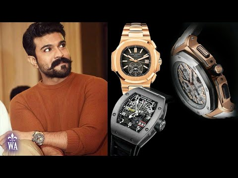 Ram Charan Watch Collection