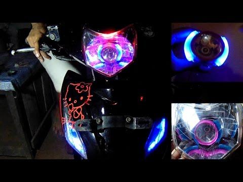 Cara Membuat Lampu ala Projie dari Senter Led.(make light projie)