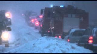 пожарные машины и шторм Xavier в Минске. 15 марта 2013