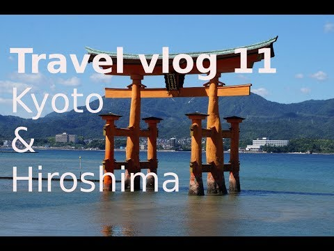 Travel vlog 11: Kyoto Tea ceremony and Hiroshima's famous red torii gate in water - Salt in my nose