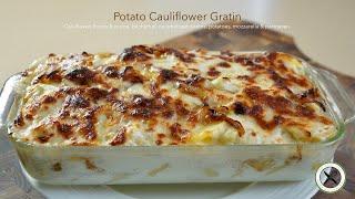 Potato Cauliflower Gratin🇺🇸🇫🇷Bruno Albouze –THE REAL DEAL