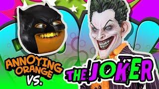 Annoying Orange vs the Joker!