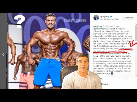 MENS PHYSIQUE - RYAN TERRY - MR OLYMPIA 2017