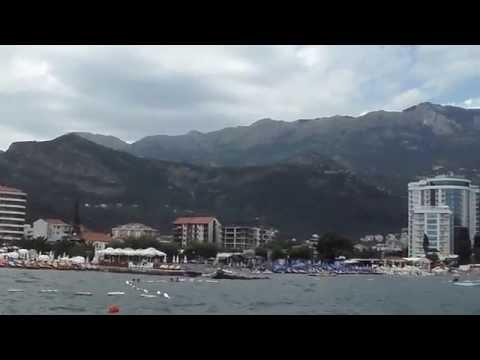 Černá Hora 2014 , Budva , cesta lodí na ostrov Sveti Nikola