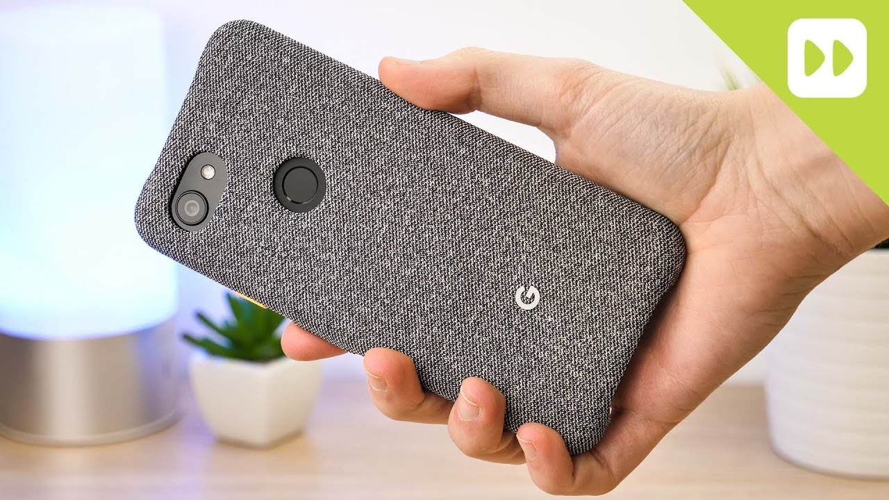 huge selection of e5227 34e90 Official Google Pixel 3a Fabric Case Review
