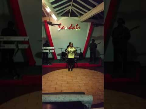 Cava and the Ital root band  live at sandals inn