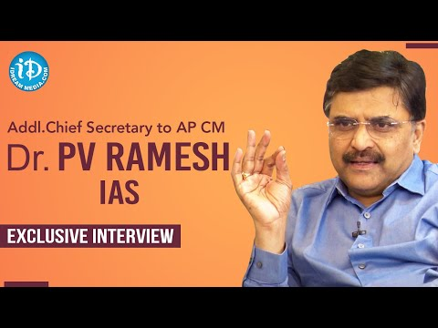 Addl Chief Secretary to AP CM Dr PV Ramesh IAS Exclusive Interview | Dil Se with Anjali #229