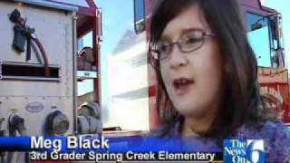 Broken Arrow Students Win Rides In Fire Truck For Winning Poster Designs