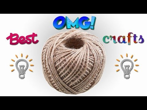 Best out of waste Jute Rope Craft Ideas | BEST OUT OF WASTE | Easy craft ideas