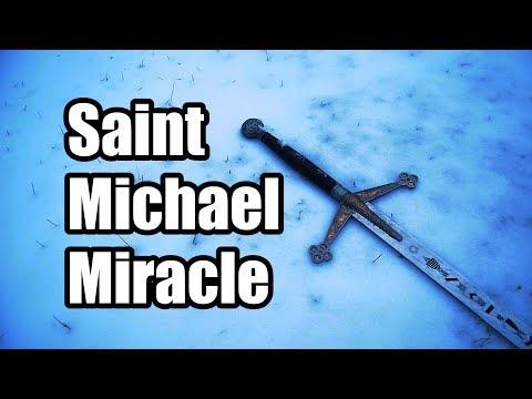 Incredible Miracle: U.S. Marine Saved by Saint Michael