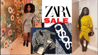 Asos|Zara Sale Haul + Try-On     *Tips On How To Shop In the Sale*  #zarasale #zarahaul #zara try on