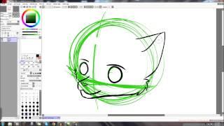 Furry Tutorial #1- Basic Lineart