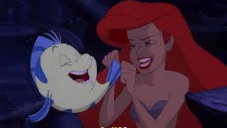 Караоке-песня из мультика Русалочка 1996 на русском (Русалочка Ариэль)
