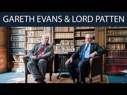 Gareth Evans & Lord Chris Patten | Full Event