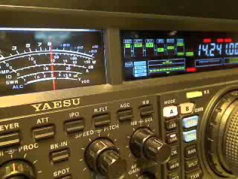 PD15XMAS in the Pileup on 20 meters 2-12-2015 video 2