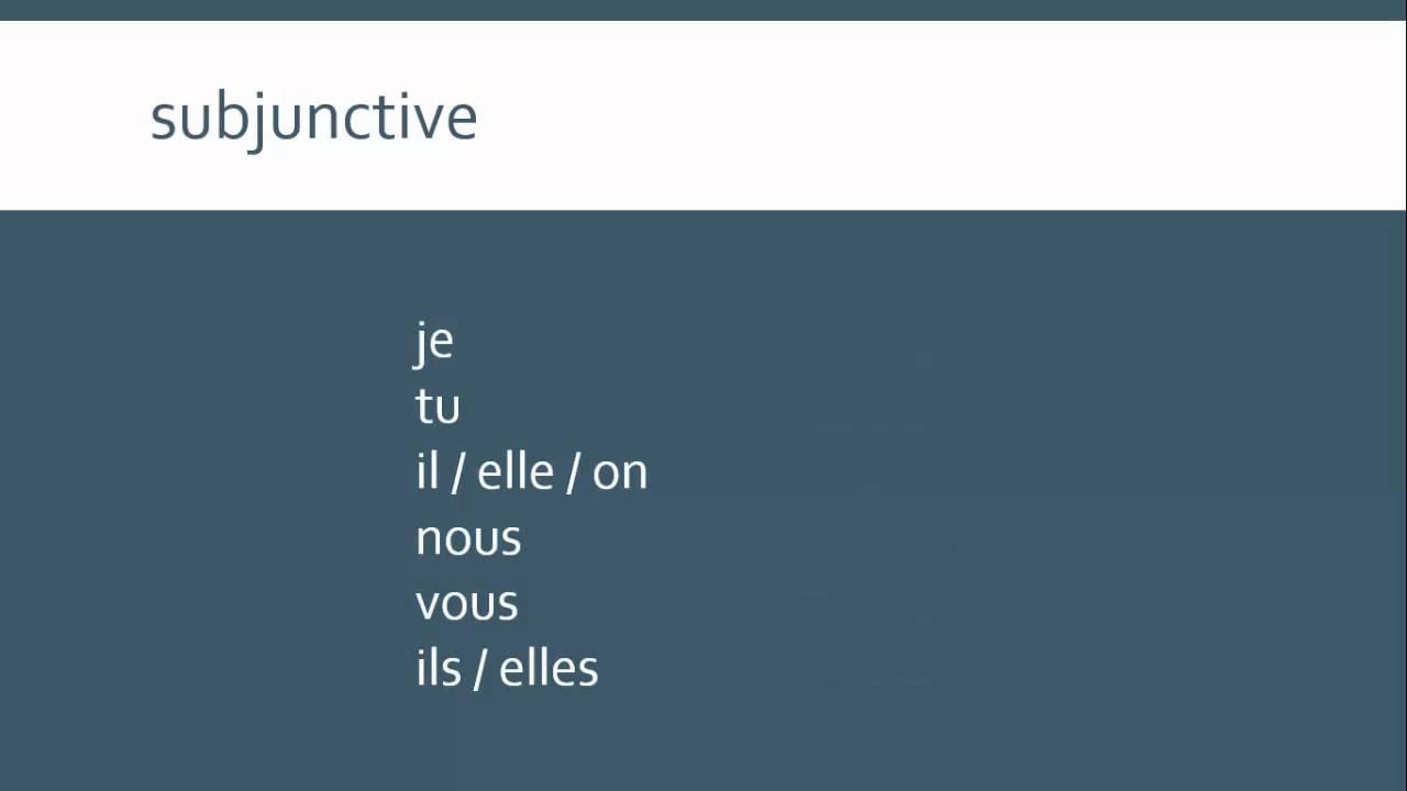 Irregular French Verbs Etre