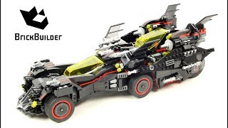 Lego Batman Movie 70917 The Ultimate Batmobile - Lego Speed Build