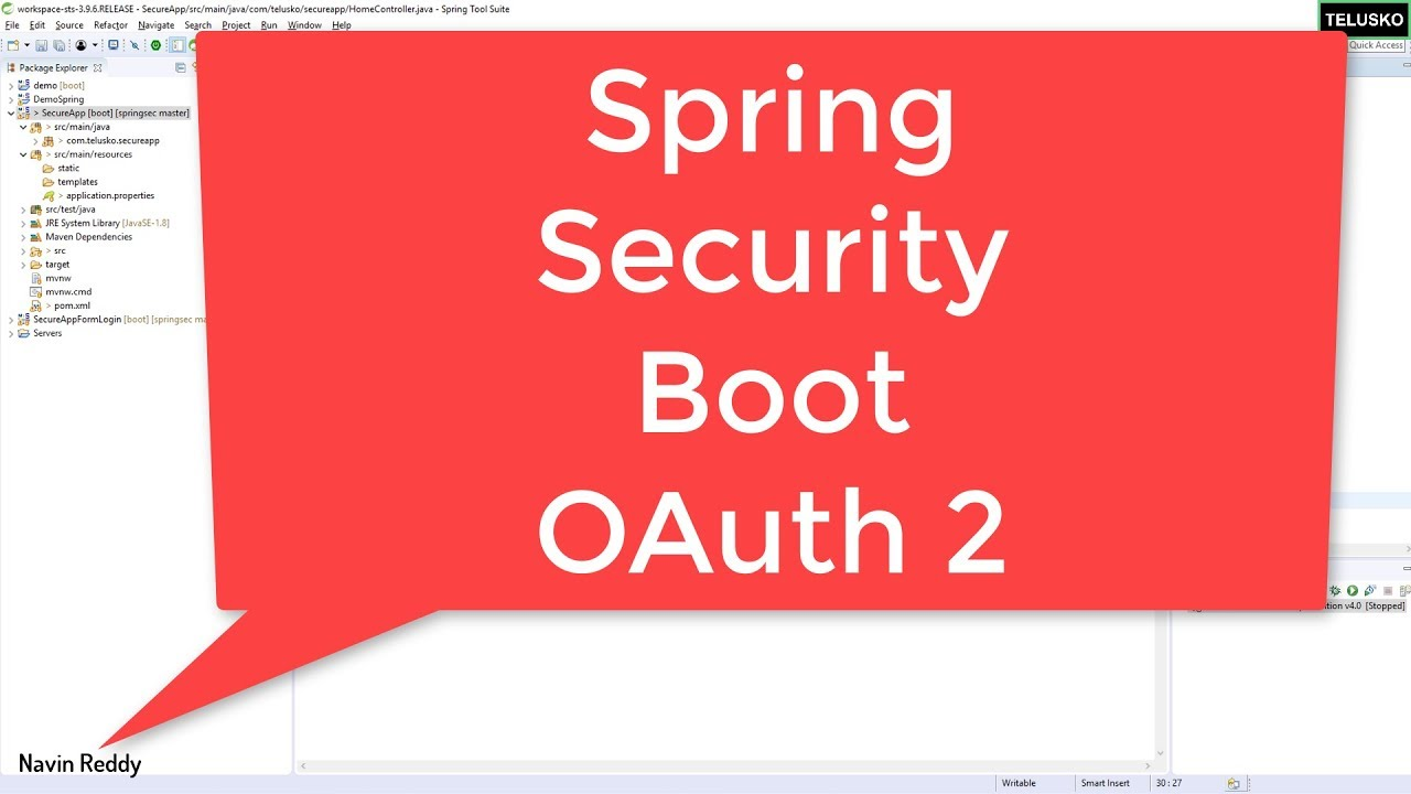 Spring Boot Security OAuth 2