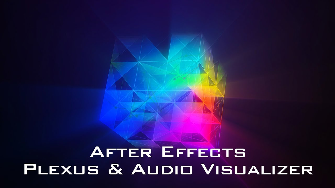 After Effects - Plexus & Audio Visualizer Animation