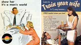 10 najśmieszniejszych seksistowskich reklam z dawnych lat
