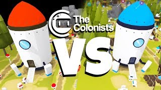 When Robots Attack Other Robots In The Colonists!