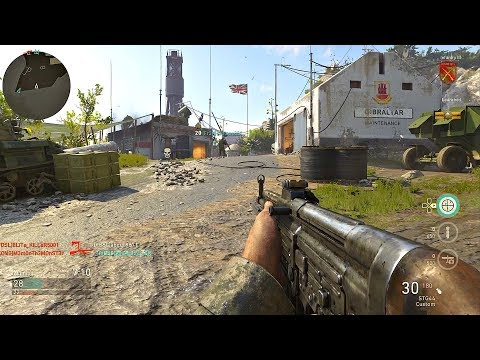 Call of Duty WW2 - Team Deathmatch Gameplay (Gibraltar) PS4 PRO