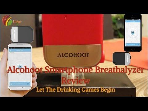 Alcohoot Smartphone Breathalyzer Review