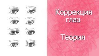 Коррекция глаз. Урок 2. Вся теория!(Здравствуйте! Сегодня вашему вниманию представляю видео о коррекции глаз. Конечно видео получилось долгим..., 2014-10-04T07:47:23.000Z)