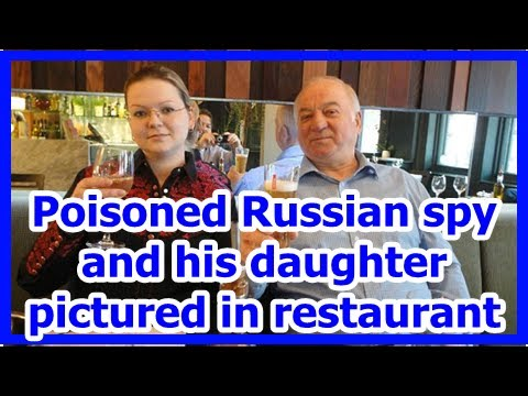 [News] Poisoned Russian spy and his daughter pictured in restaurant