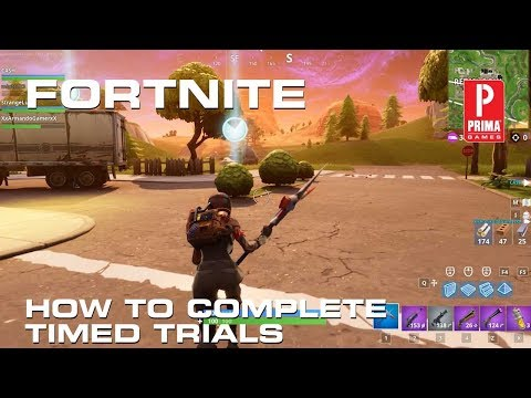 Fortnite Timed Trial Locations - How to Complete Timed Trials