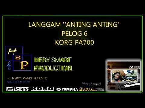 """Langgam"""" Anting Anting """"pelog 6 ,KORG PA700"""