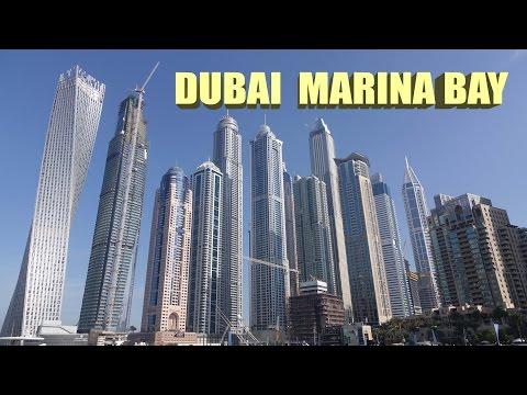 Dubai Marina Bay - Dubai 4K