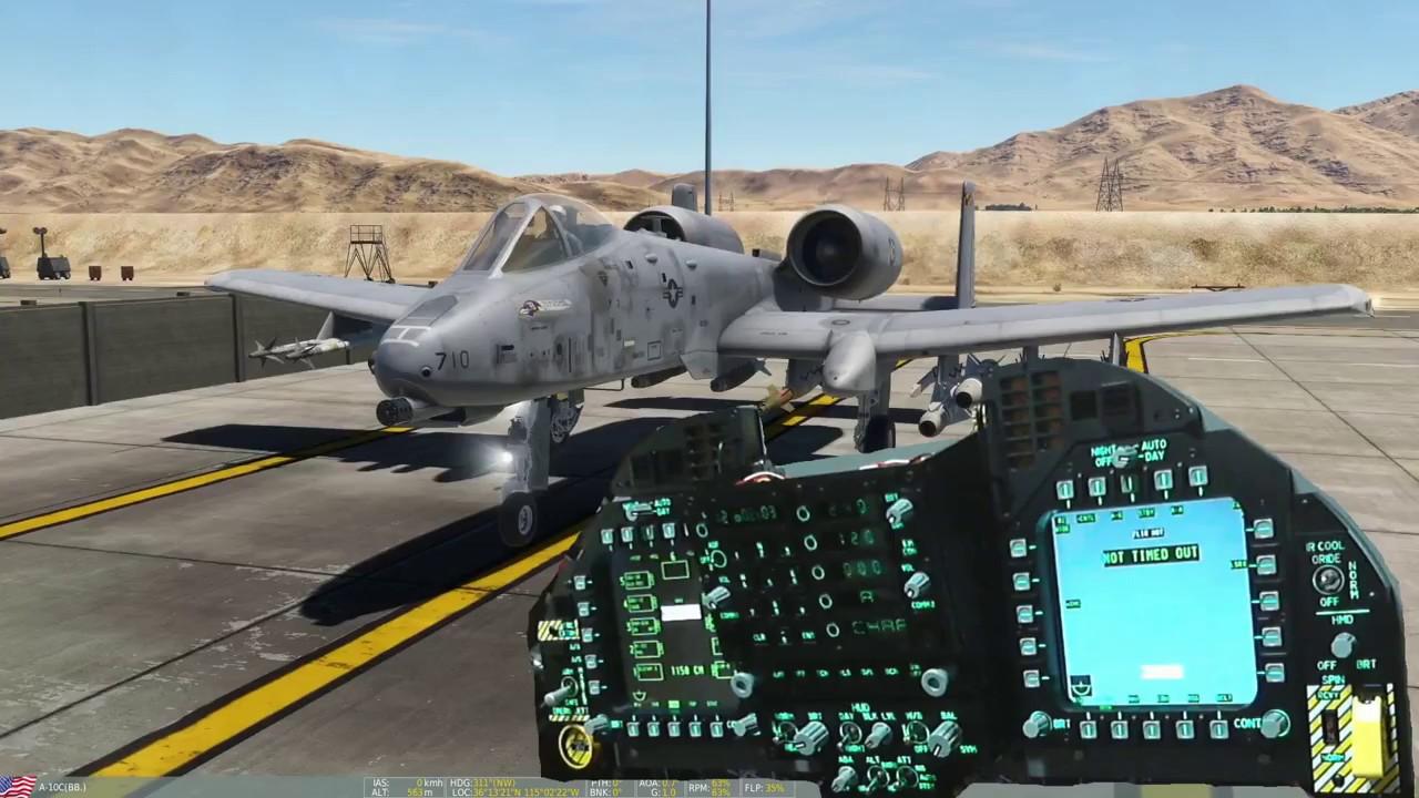 Home Cockpit F/A-18C Upper Front Panel Test