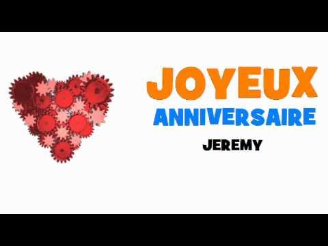 Joyeux Anniversaire Jeremy Youtube