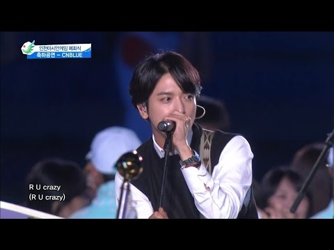 【TVPP】CNBLUE - I'm Sorry, 씨엔블루 - 아임 쏘리 @ Special Stage, 2014 Incheon Asian Game Live