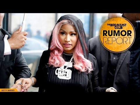 Nicki Minaj Spotted Getting Marriage License With Kenneth Petty
