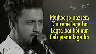 Pachtaoge Full Song (Lyrics) - Atif Aslam | B Praak, Jaani | Bada Pachtaoge | Audio | New Song 2019